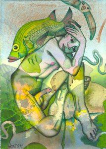 Galerie kunst und eros, Leonore Adler, Juli