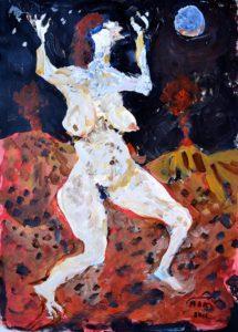 Galerie kunst und eros, Maria Adler-Krafft · Mondtänzerin