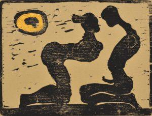 Galerie kunst und eros, Ulrich Eissner · Mondschattenspiel