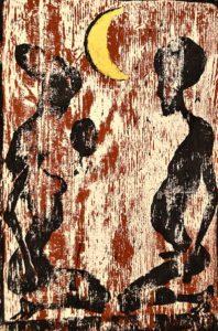 Galerie kunst und eros, Ulrich Eissner · Nacht
