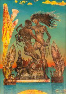 Galerie kunst und eros, Siegfried Otto Hüttengrund · Daphne