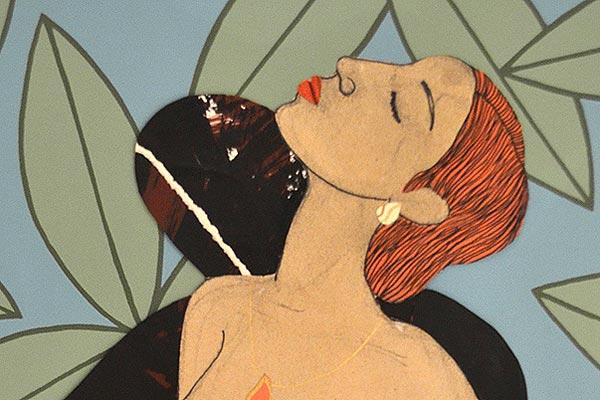 Galerie kunst und eros, Katharina Kretschmer · Umarmung