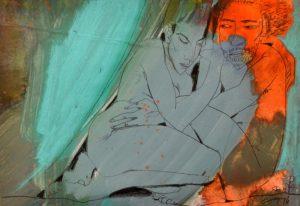 Galerie kunst und eros, Gudrun Trendafilov · Paar