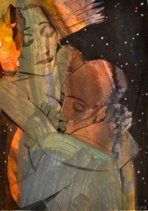 Galerie kunst und eros, Gudrun Trendafilov · Nacht
