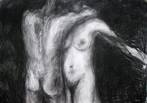 Galerie kunst & eros, Anita Voigt · Liebespaar 1