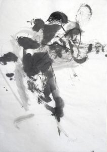 Galerie kunst & eros, Anita Voigt · Liebkosung