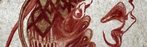 Galerie kunstunderos, Fides Linien, Musa Karmina, Papier, Garn